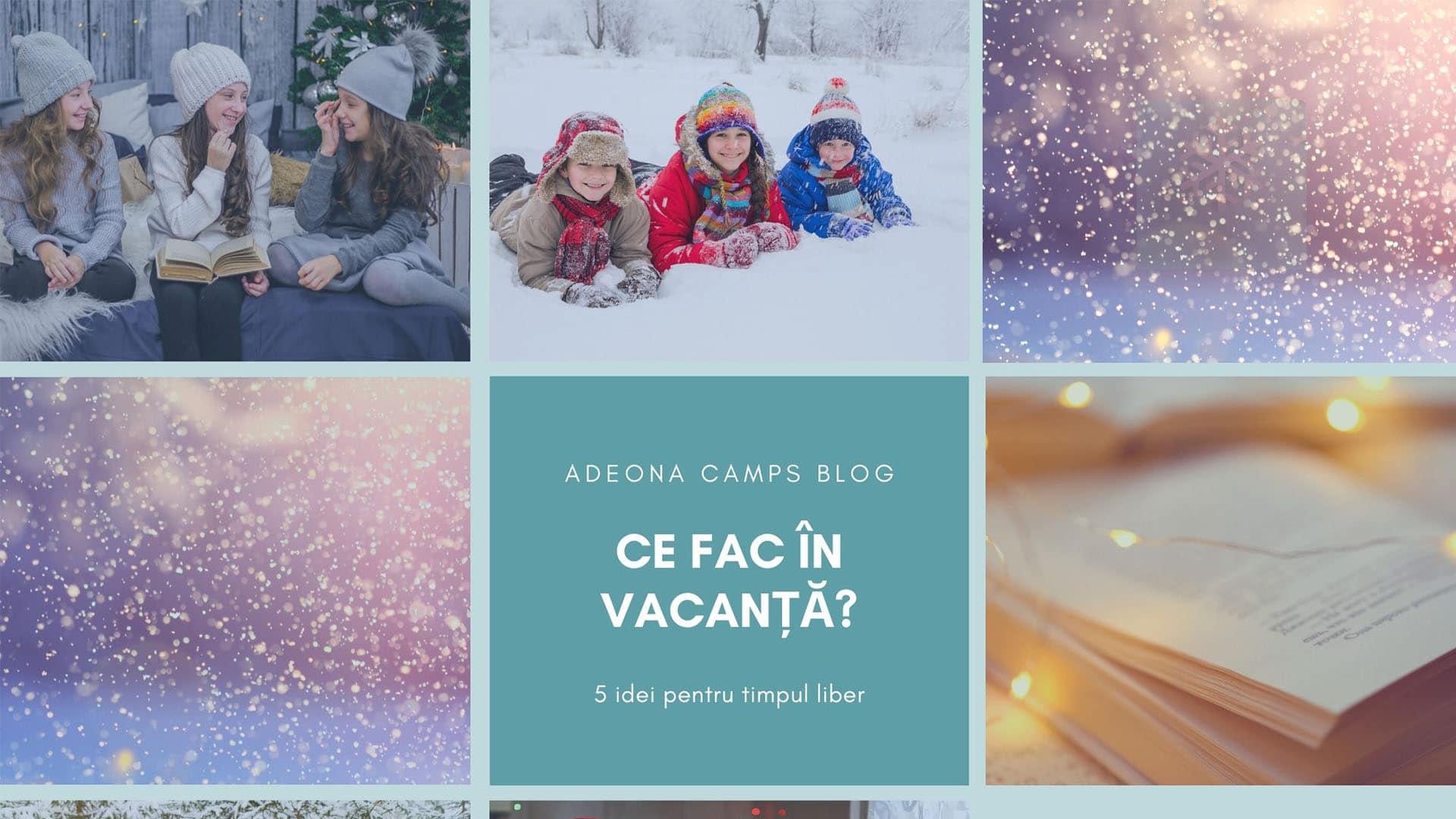 Idei pentru a petrece vacanta de iarna pentru elevi si copii